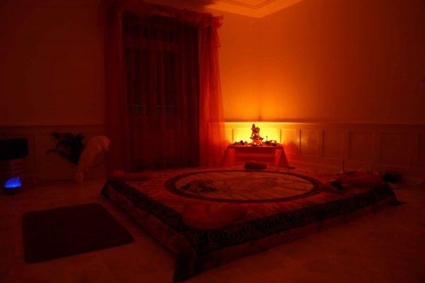 tantric massage room